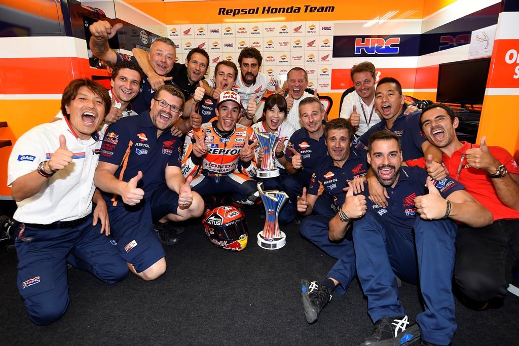 MotoGP Misano 2015, nulla da perdere per Marquez, insieme al suo Team