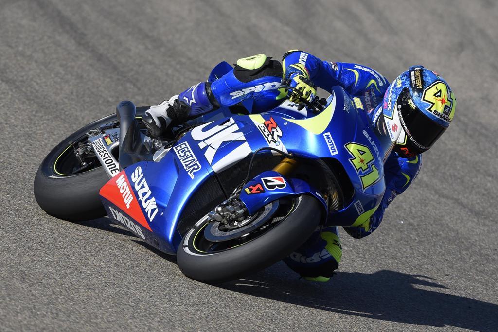 MotoGP 2015, Aragon. Aleix Espargaro sesto in Spagna