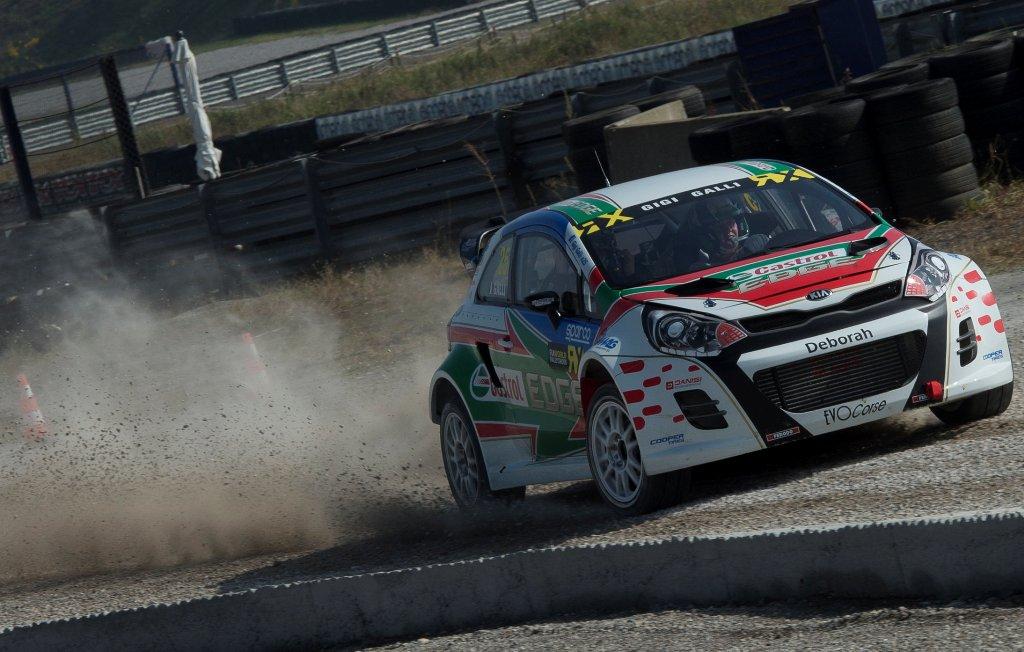 World Rally Cross 2015: la KIA Rio nel test di Francoacorta