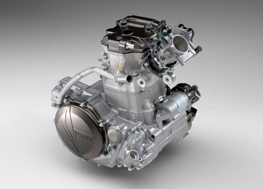 Yamaha 2016, il monocilindrico della WR450F
