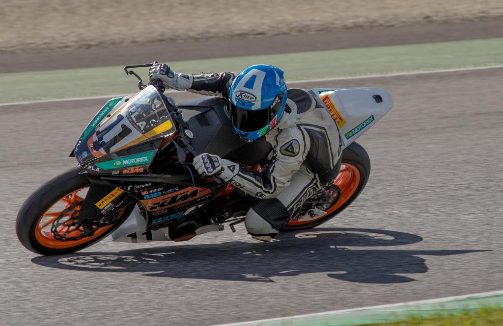 CIV 2015. Trofeo RC390 KTM, Nazzareno Lumina in gara