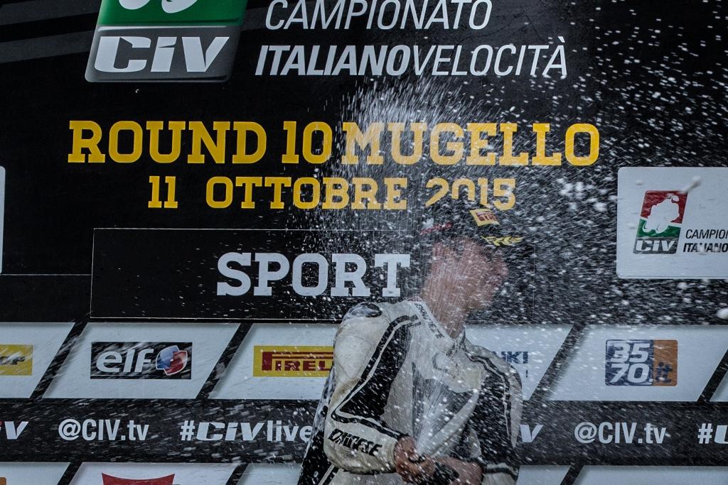 CIV 2015, Trofeo RC390 KTM, Lumina sul poido del Mugello