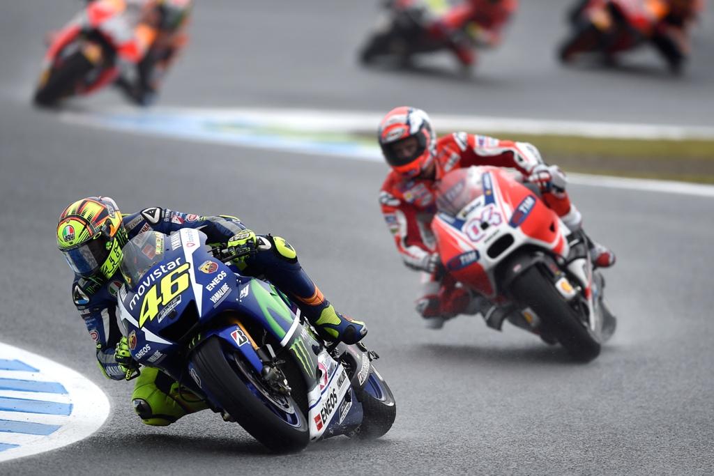 Valentino Rossi ancora saldamente leader classifica