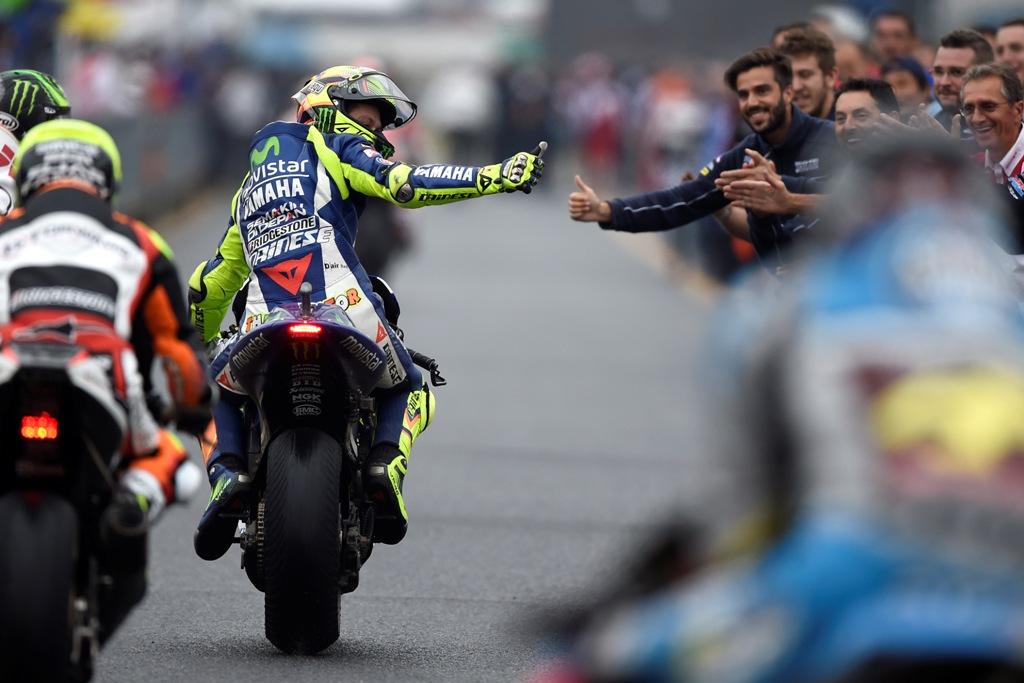 MotoGP 2015, Giappone, Valentino Rossi a fine gara