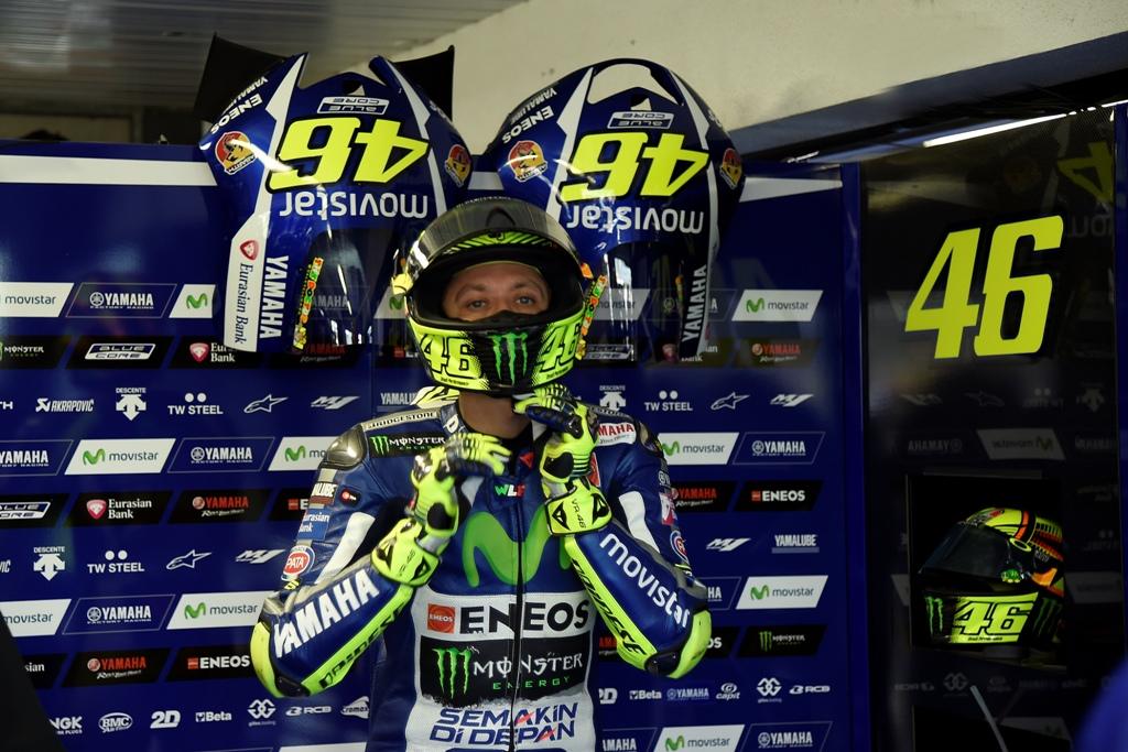 Valentino Rossi mantiene la leadership di Campionato