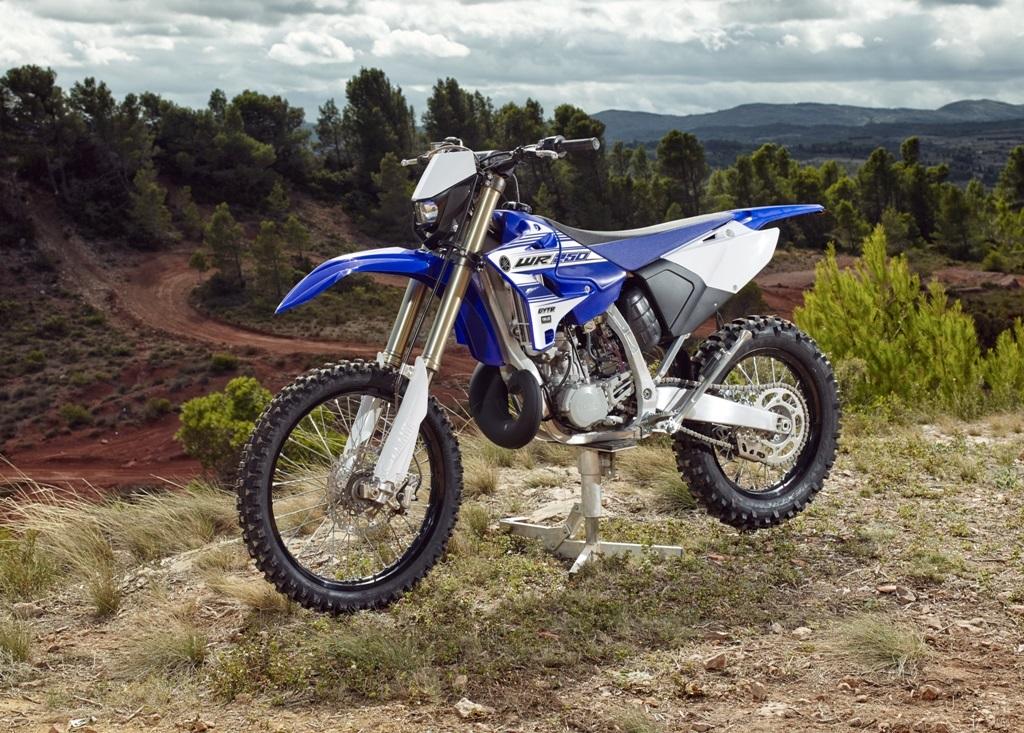 Yamaha 2016, la WR250 2T mancava da tempo in versione omolagata