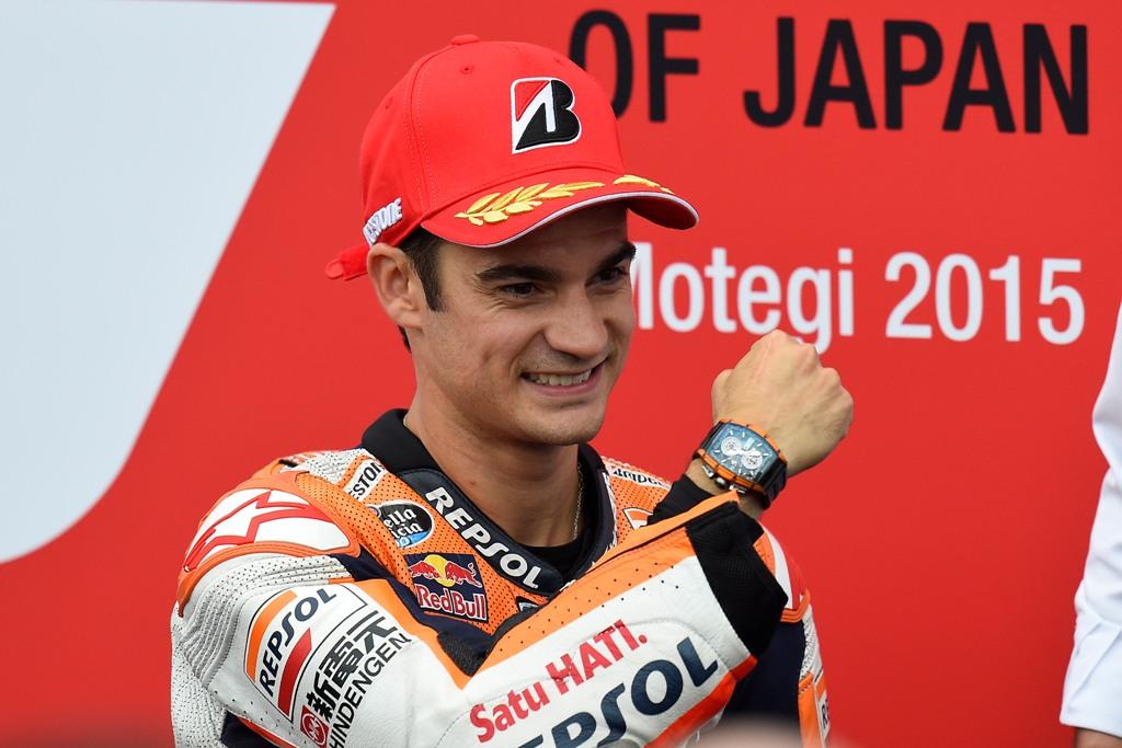 MotoGP Giappone, Dani Pedrosa ce l'ha fatta
