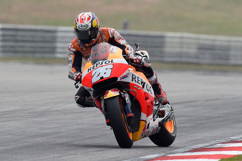 MotoGP 2015, Dani Pedrosa, vittoria in Malesia