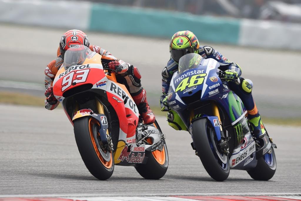 MotoGP 2015, l'inizio del duello tra Rossi e Marquez
