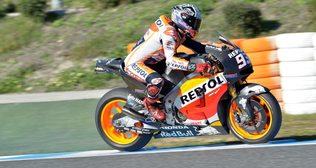 MotoGP test Jerez  test novembre Marc Marquez