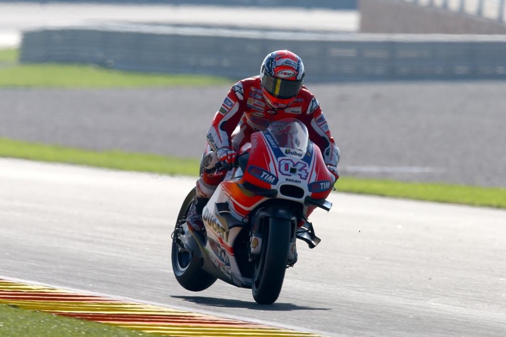 MotoGP test Valencia 2015, Andrea Dovizioso