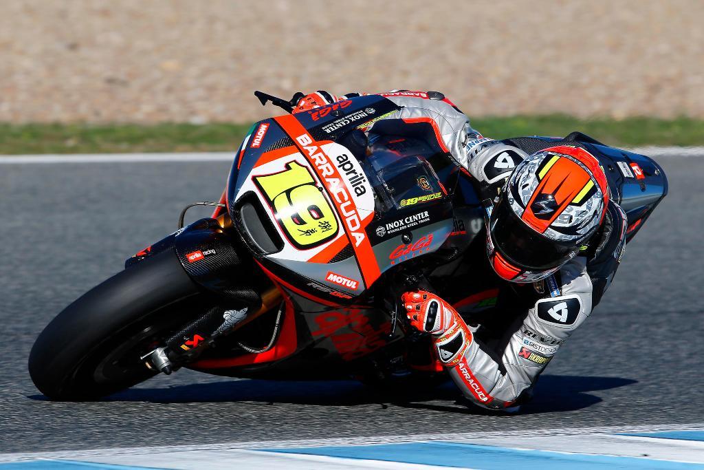 MotoGP test Aprilia RS-GP 2016