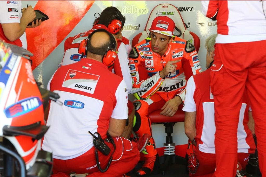 MotoGP Valencia test, Andrea Iannone