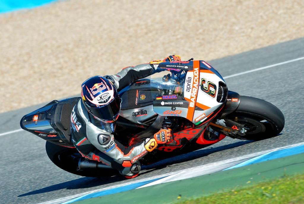 MotoGP test Aprilia RS-GP 2015 Jerez