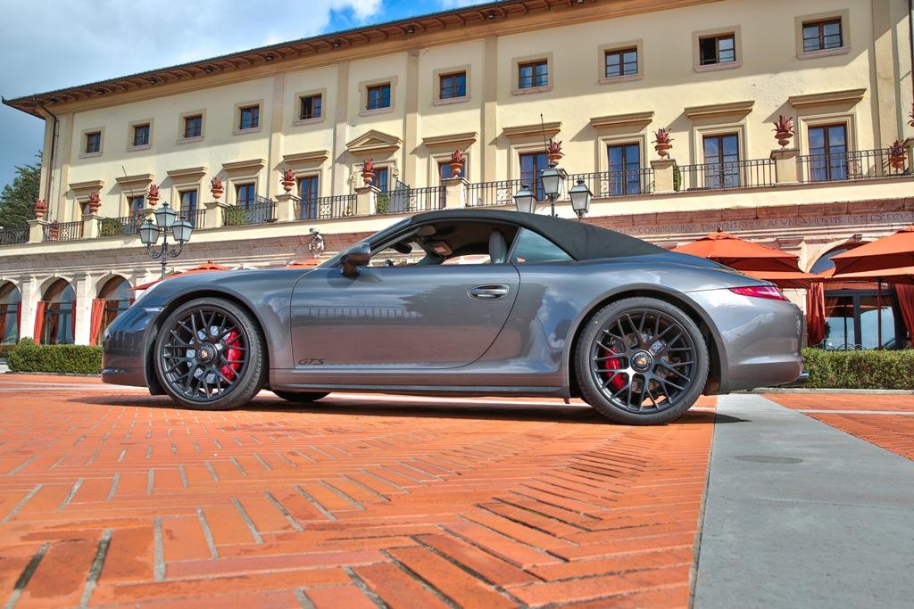 Porsche Carrera 4 GTS, Fonteverde Tuscan Resort &Spa