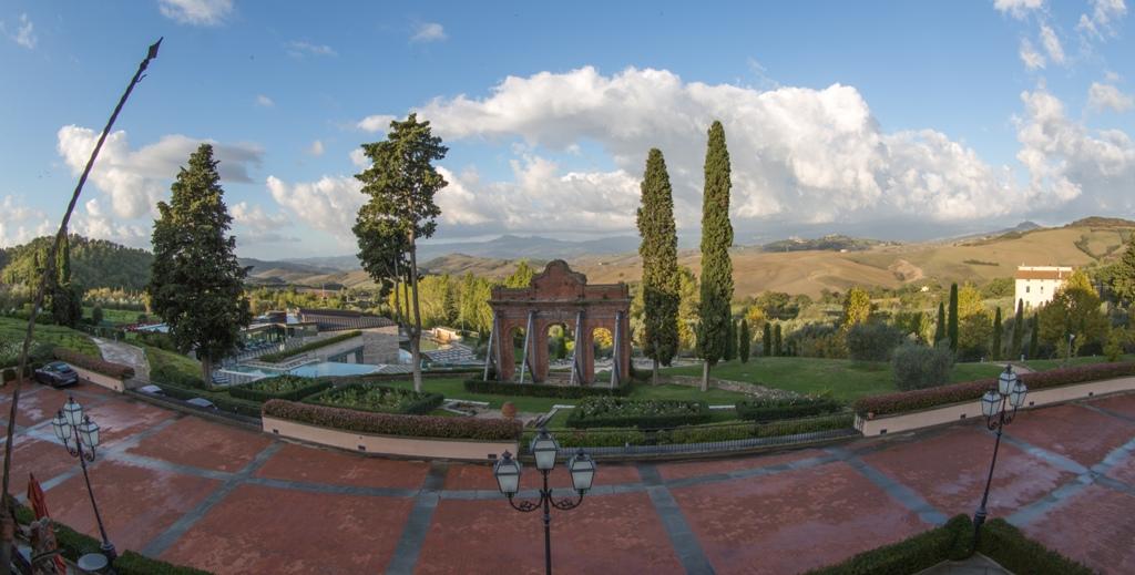 Fonteverde Tuscan Resort & Spa, una vista dalla struttura principale