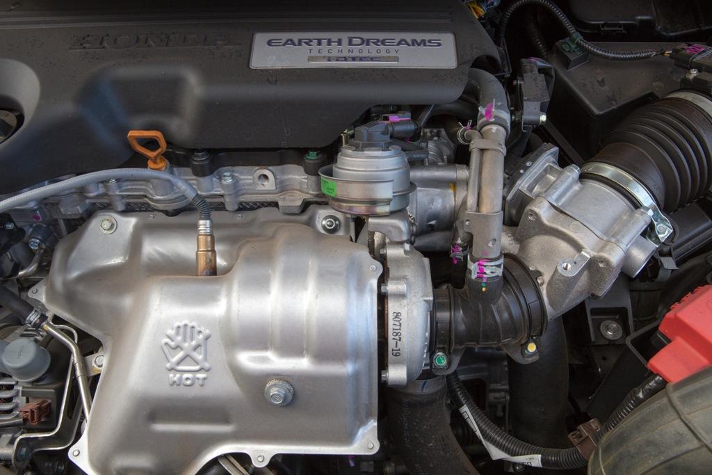 Honda 1.6 DTEC, particolare della turbina