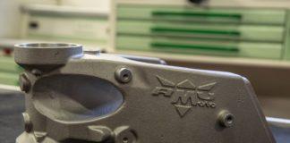 RMU, la parte superiore del telaio Moto3 RMU