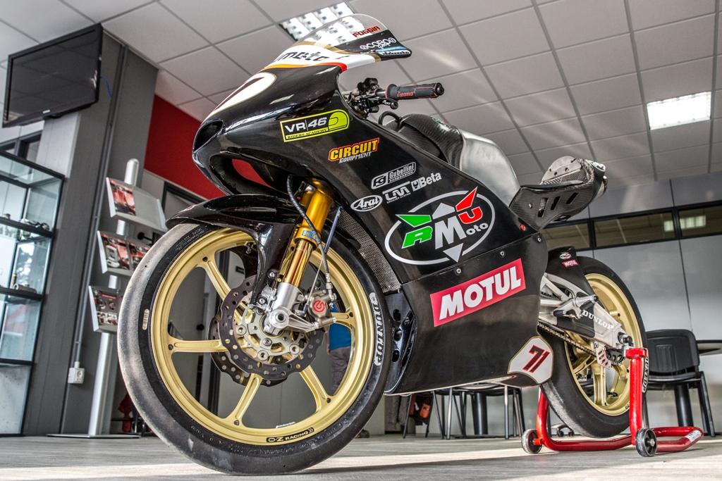 RMU 2015, la Moto3 2015 che ha corso nel CIV