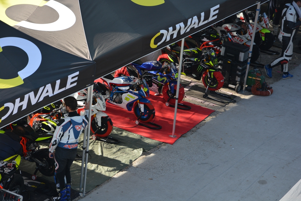 Ohvale, ambiente tecnico ma familiare alle gare della categoria