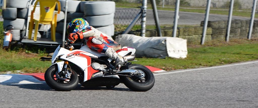 Ohvale, il nostro Paolo Arioni in gara a Pomposa