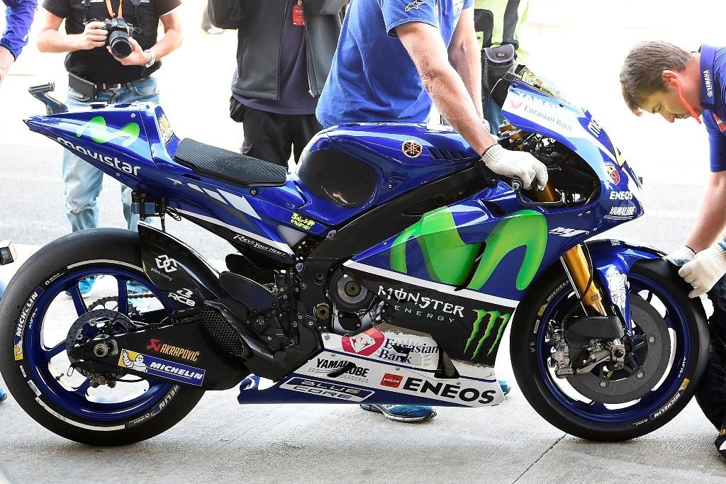Yamaha 2016 Michelin