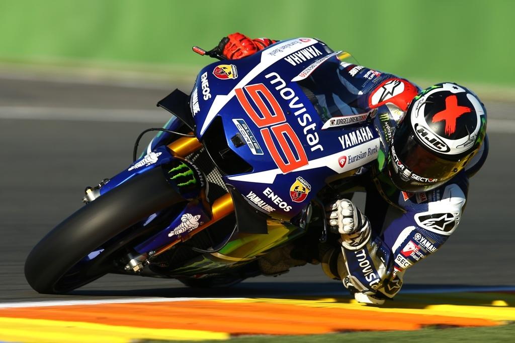 Test MotoGP Valencia 2016 1, Lorenzo nei test