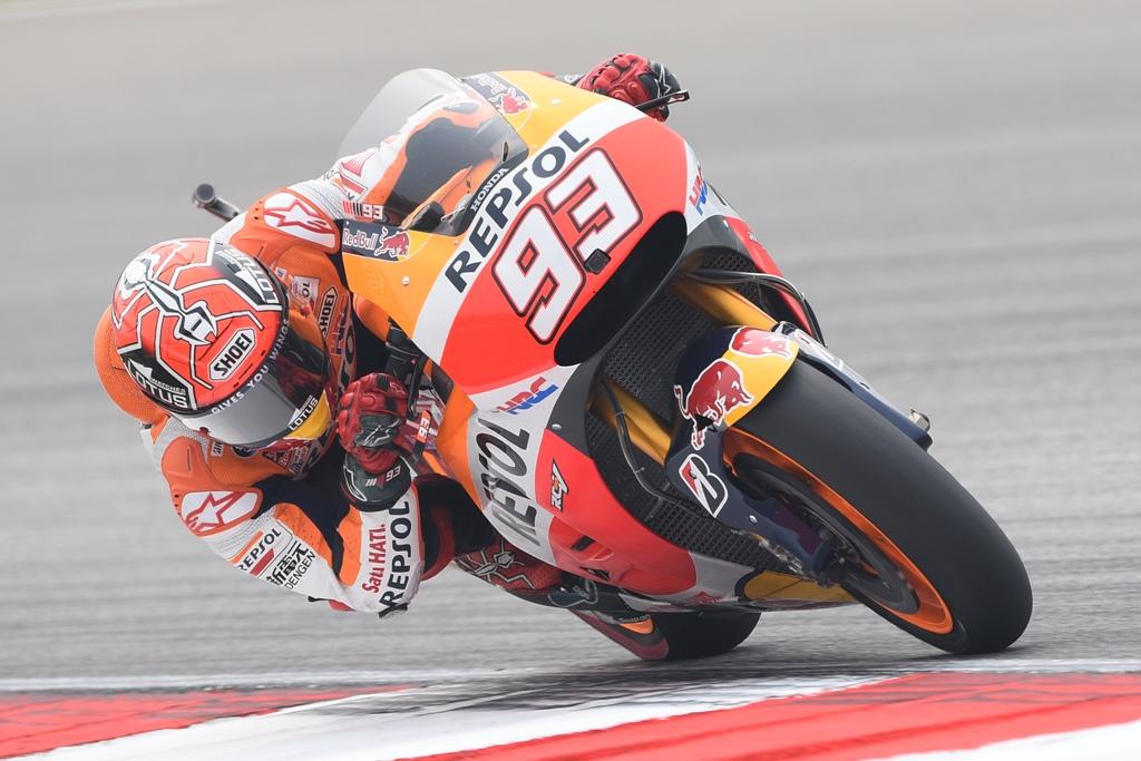MotoGP Marc Marquez arriva a Valencia per vincere