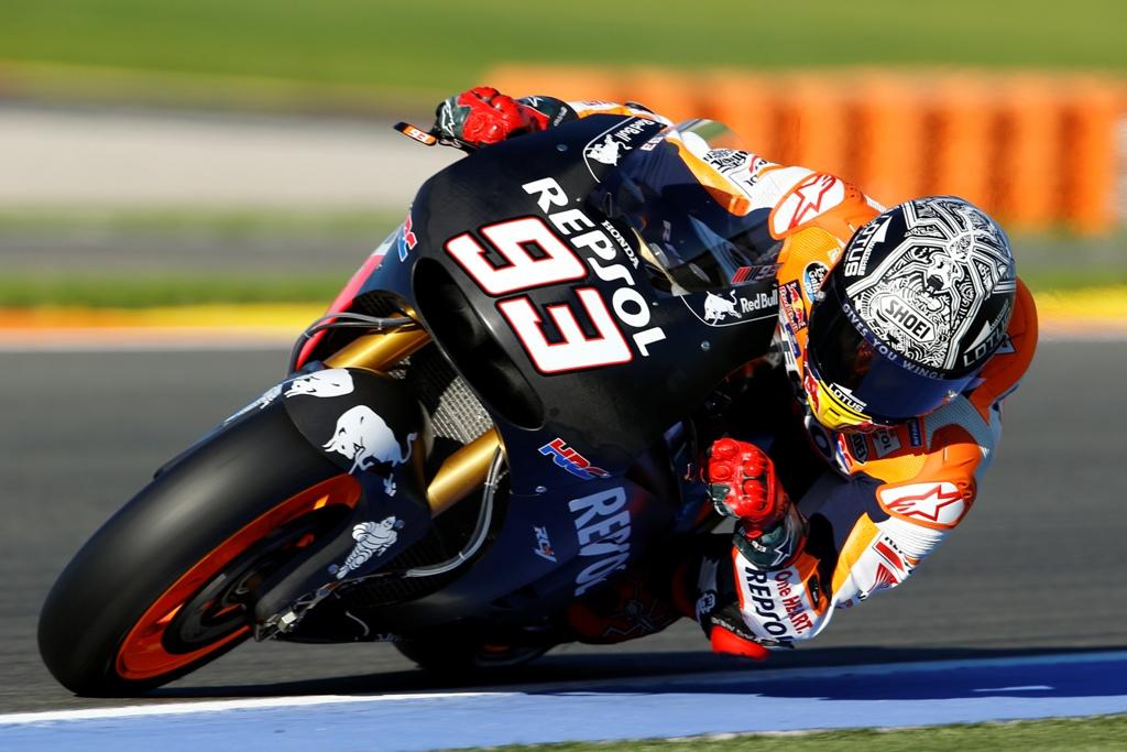 Test MotoGP Valencia 2016, Marc Marquez
