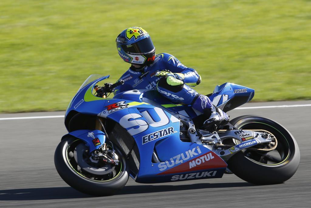 MotoGP 2015, test Valencia, Aleix Espargaro, Suzuki GSX-RR