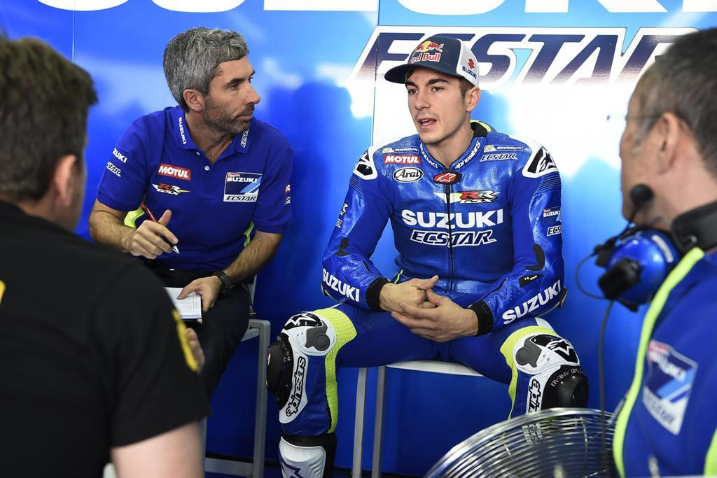 Test MotoGP Valencia, la Suzuki di Vinales è stata velocissima con il 2° posto nelle prove