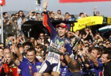 MotoGP 2015, Lorenzo subito dopo la gara