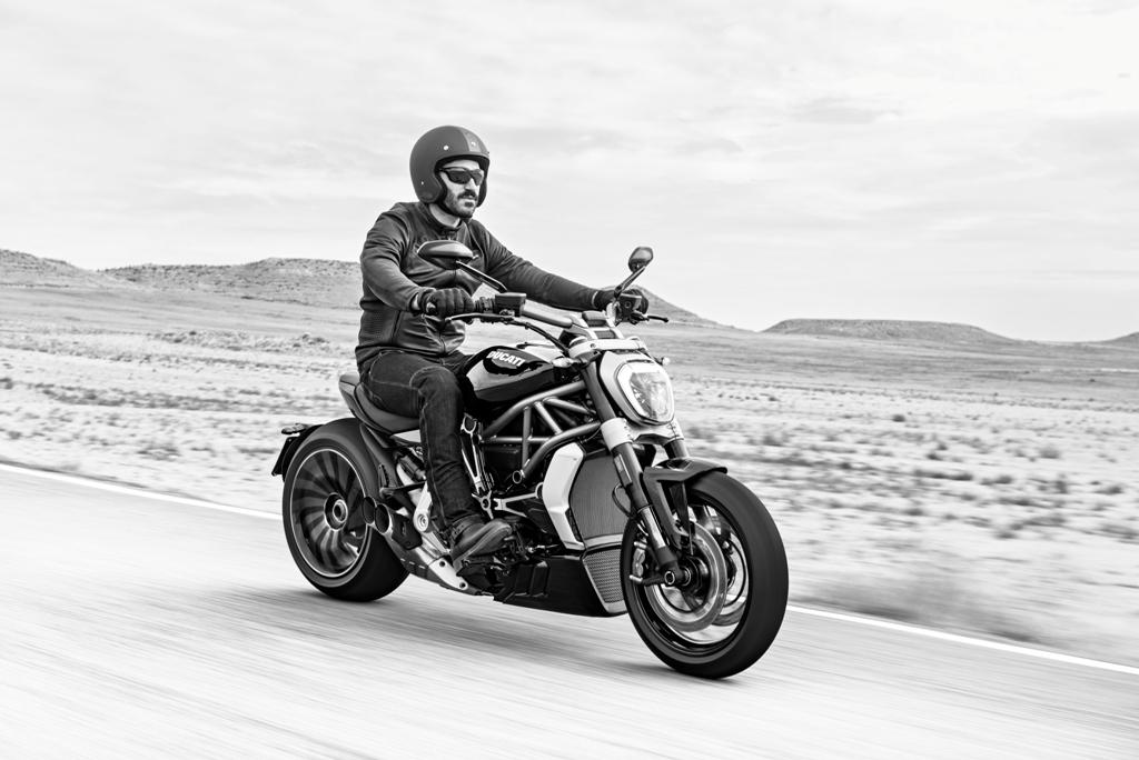 La Ducati XDiavel è pensata in ottica Cruiser certamente per il mercato americano