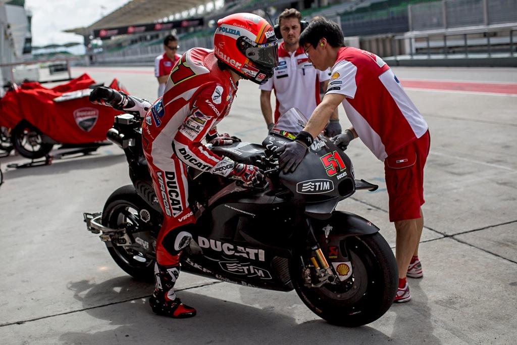 MotoGP test 2016 Sepang, Stoner