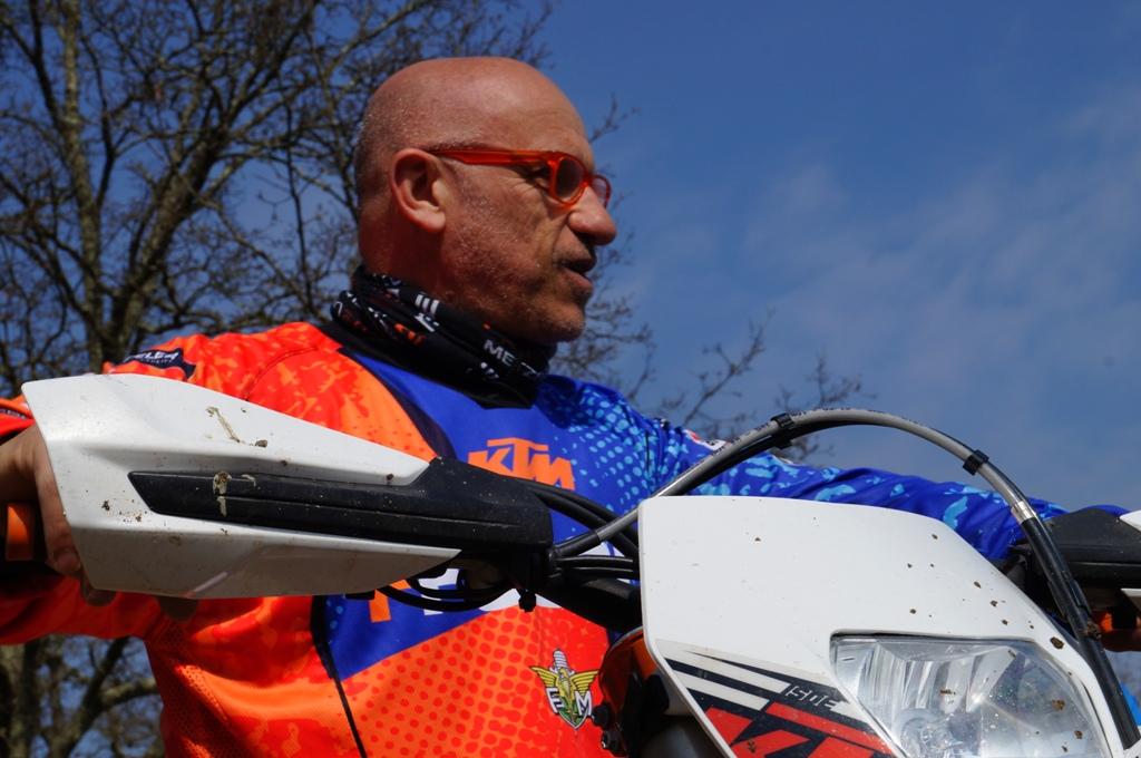 Fabio Fasola, il Prof. dell'Enduro estremo sta preparando la 13a edizione