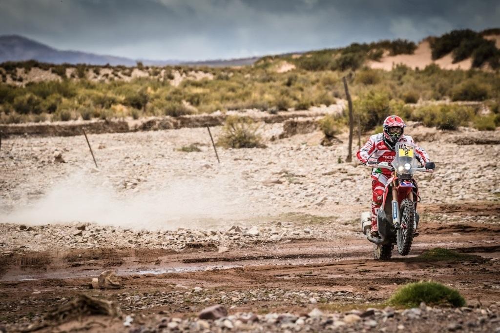 Dakar 2016, Goncalves in azione