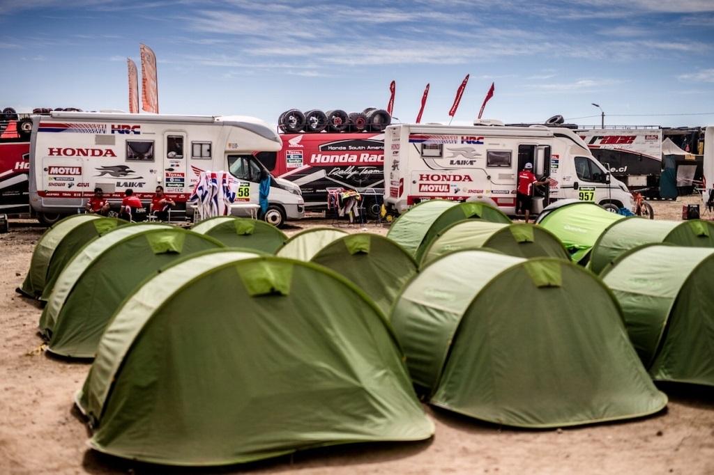Dakar 2016, il bivacco