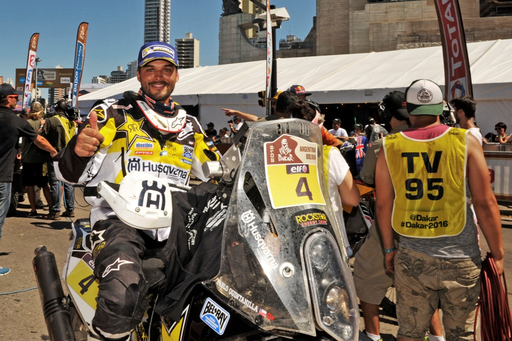 Daakar 2016, Quintanilla, terzo assoluto dopo 9000 km