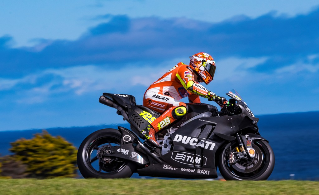 MotoGP 2016, test Australia, Andrea Iannone