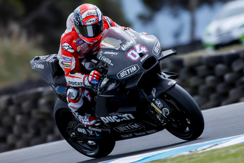 MotoGP 2016, test Australia, Andrea Dovizioso