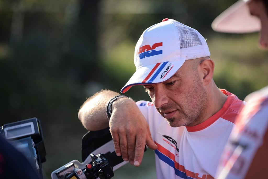 Il nostro grande Paolo Ceci il Robin Hood di questa Dakar 2016