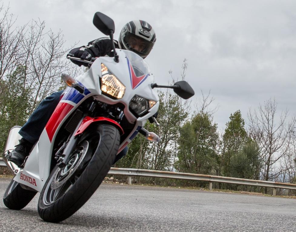 Honda CBR300R, in sella non ci stanca mai...