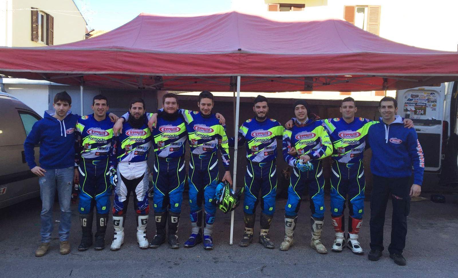 Il Team D'Ippolito Racing al completo