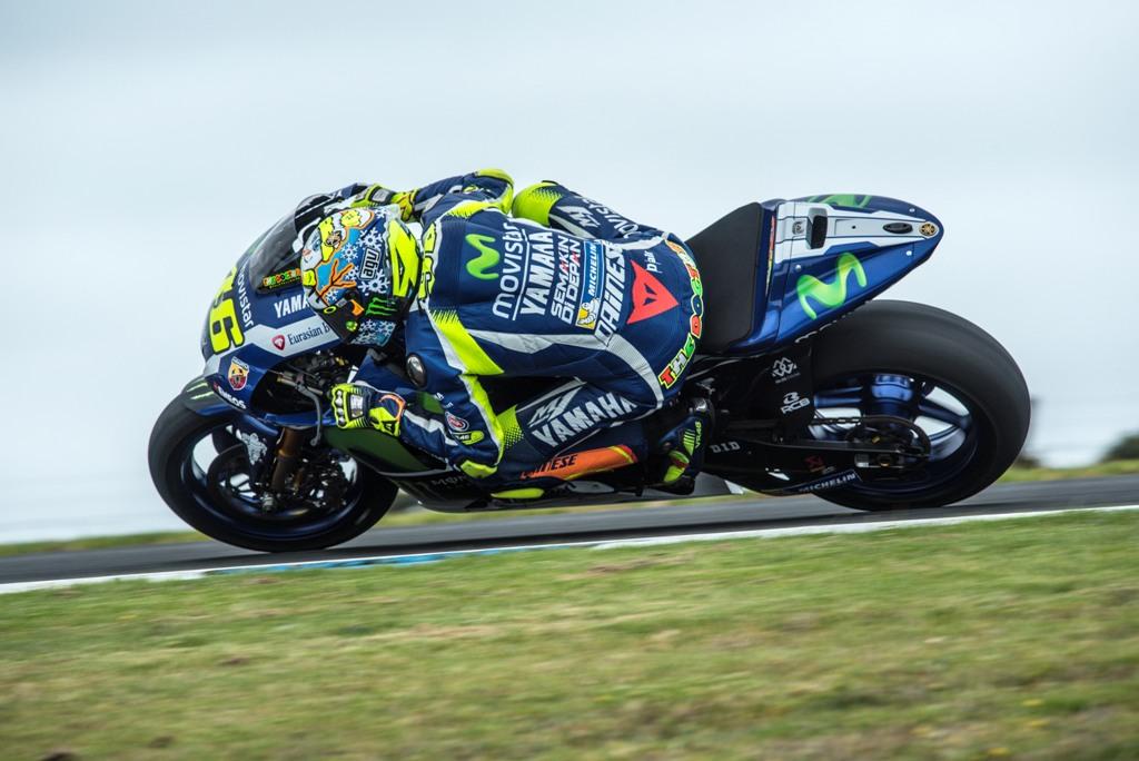 MotoGP 2016, test Australia, Valentino Rossi