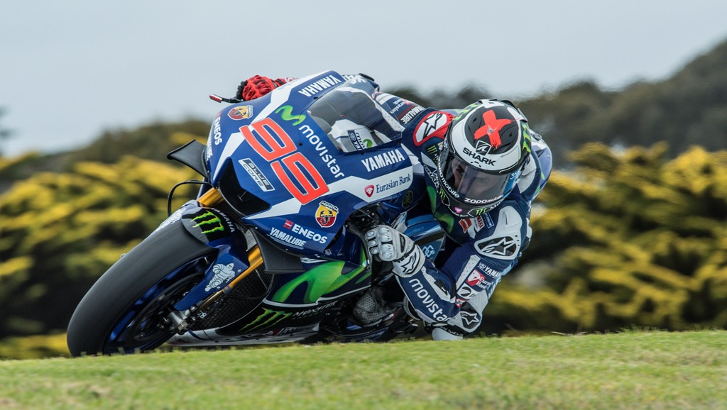 MotoGP 2016, test Australia, Jorge Lorenzo