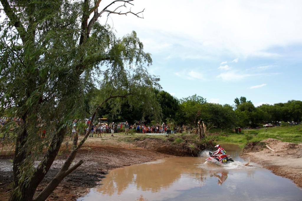 Un passaggio tecnico della Dakar 2016