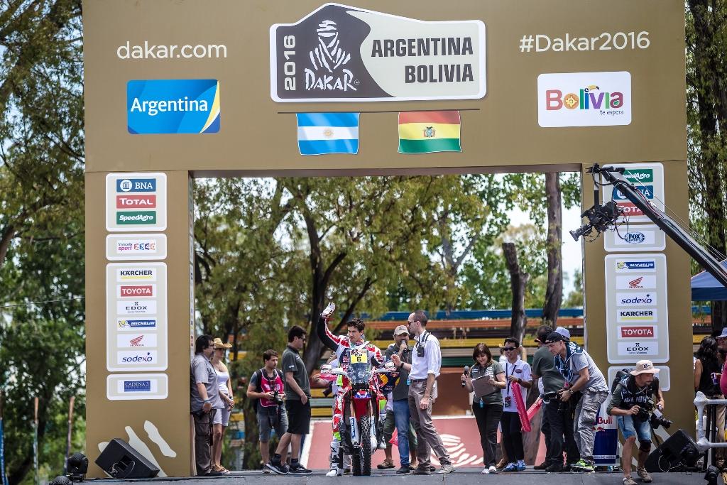 Podio ed arrivo per Barreda non proprio fortunato anche lui a questa Dakar 2016