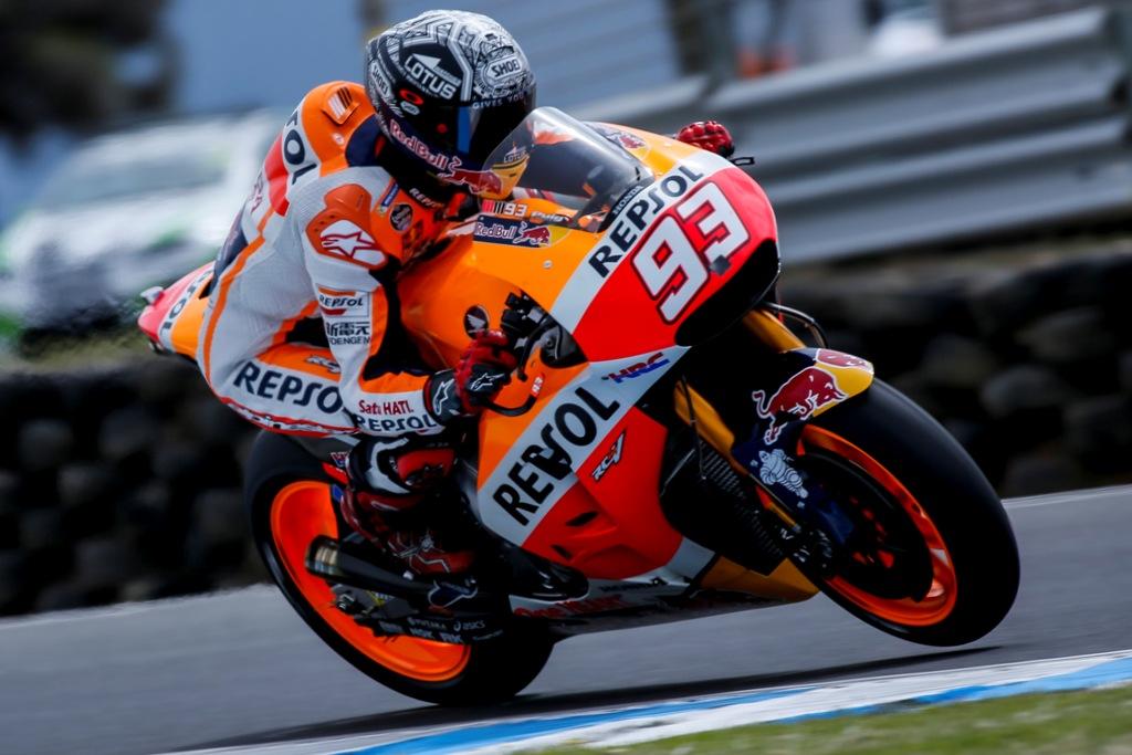 MotoGP test Australia, Marc Marquez