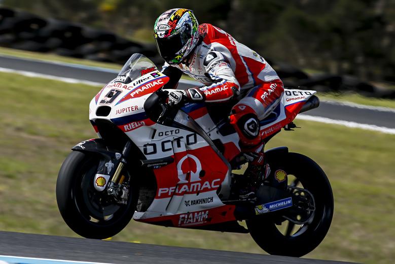 MotoGP test australia day 3 2016, Danilo Petrucci