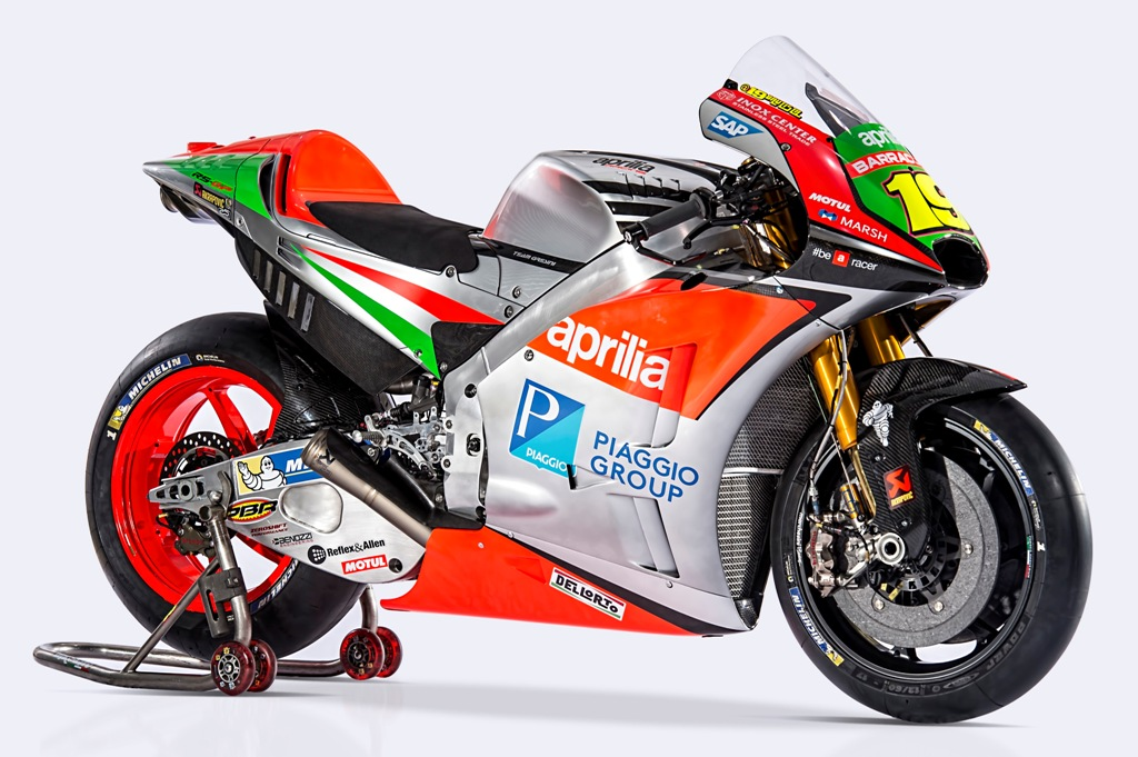 Moto GP 2016, la TS-GP Aprilia di Bradl e Bautista